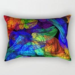 The Magic of Color Rectangular Pillow