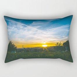 Picnic at the Park Rectangular Pillow
