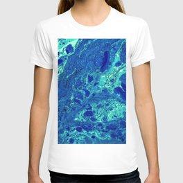Aqua Texture (Color) T-shirt