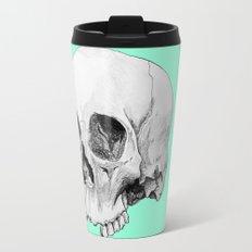 Seafoam Skull Travel Mug