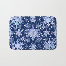 Snowflakes #3 Bath Mat