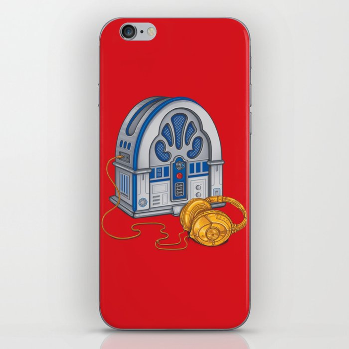 Beats by Droid - Recycled Future iPhone Skin