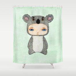A Boy - Koala Shower Curtain