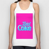 coke Tank Tops featuring COKE >>> 1991 by Mark Mayr