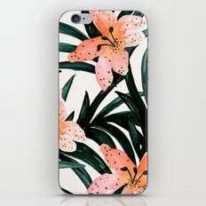 Tiger Lily Tropical iPhone & iPod Skin