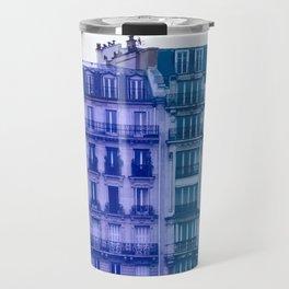 Colorful Paris Buildings Travel Mug