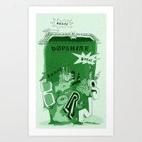 Dopamine Art Print