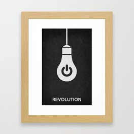 Revolution 01 Framed Art Print