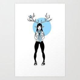 Perch Art Print