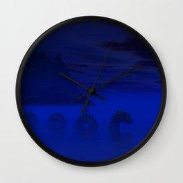 Midnight on the Loch Wall Clock