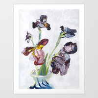 german Art Prints featuring German Iris by Shinichi Imanaka