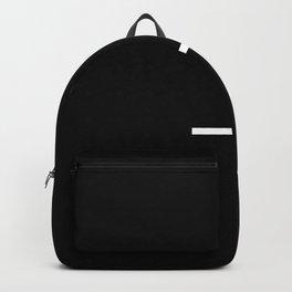 Flipped over cross Backpack