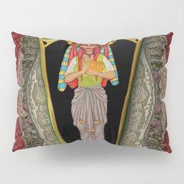 Clown Priestess in magical coffin Pillow Sham