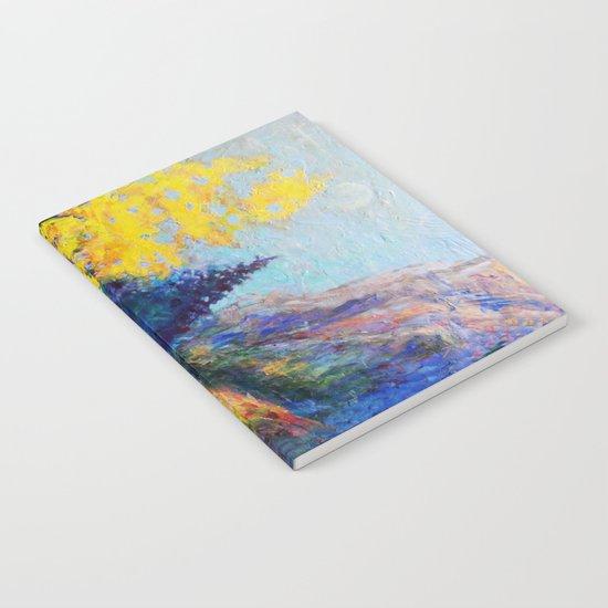 Mountain Aspen Trees  Landscape Notebook