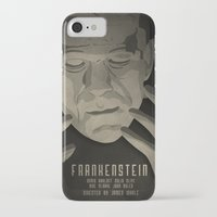 frankenstein iPhone & iPod Cases featuring Frankenstein by James Northcote