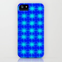 ▲eternal blue stars▲ iPhone Case