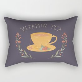 Vitamin Tea Rectangular Pillow