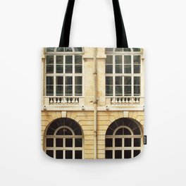 Château Windows Tote Bag
