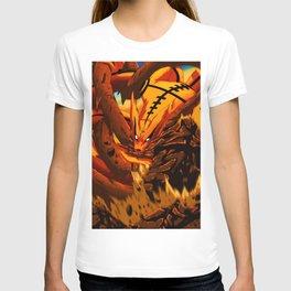kyuubi angry T-shirt