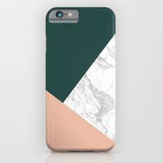 Stylish Marble Slim Case iPhone 6s