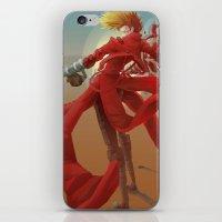 guns iPhone & iPod Skins featuring Tri Guns by Sempaiko