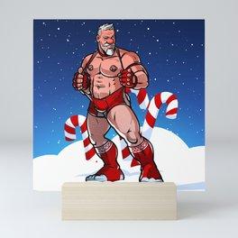 Sexy Santa Mini Art Print