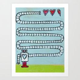 Stealing a Love Refill Art Print