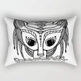 Parakagara - black pen hand-drawn alien Rectangular Pillow