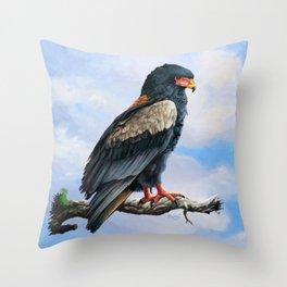 Bateleur Eagle Throw Pillow