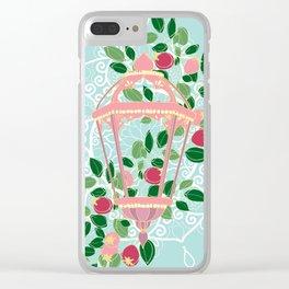 Pink Lantern Clear iPhone Case