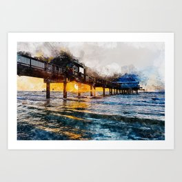 Pier 60, Clearwater Beach Art Print
