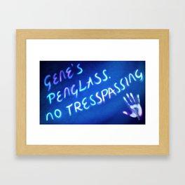 Gene's Penglass Framed Art Print