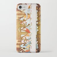 the last unicorn iPhone & iPod Cases featuring Last Supper Unicorn by That's So Unicorny