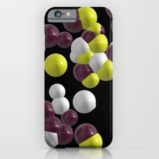 Purple Molecules Slim Case iPhone 6s