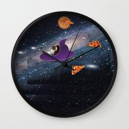 Pizza Heaven Wall Clock