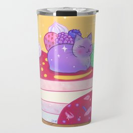 Berry Kitty Cake Travel Mug