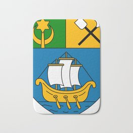Beni Saf Coat Of Arms Bath Mat