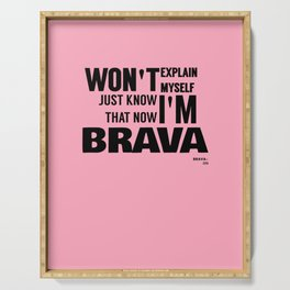 BRAVA× Serving Tray
