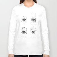 ewok Long Sleeve T-shirts featuring The Ewok-Halloween-Guide by Maria Suckert