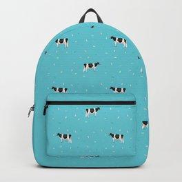 Holsteins // Sprinkles Blue Backpack