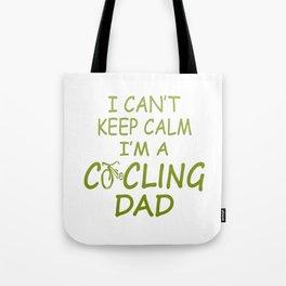 I'M A CYCLING DAD Tote Bag