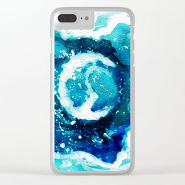2017 Eclipse Clear iPhone Case