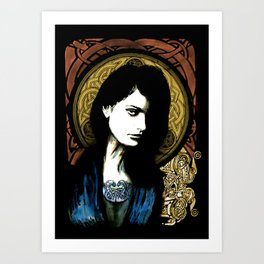 Celtic Goddess Art Print