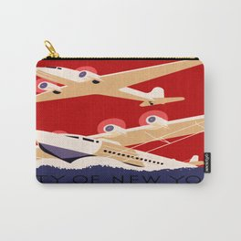 City of New York Airports Travel Carry-All Pouch