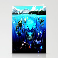 nemo Stationery Cards featuring nemo by Marwan Baghdadi