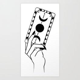Tarot Hand Art Print