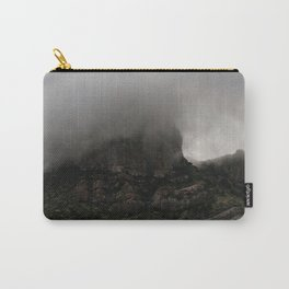 Foggy Chisos Mountaintop, Big Bend - Landscape Photography Carry-All Pouch