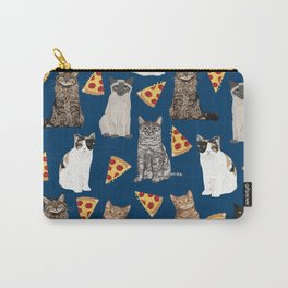Cats pizza slices food cat lover pet gifts must have cat breeds Carry-All Pouch