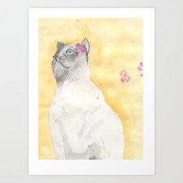Princess Cauliflower Art Print