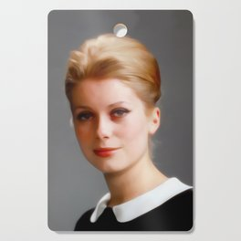 Catharine Deneuve, Vintage Actress Cutting Board